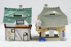 Villaggio in porcellana