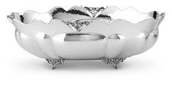 Jatta ovale in argento massiccio