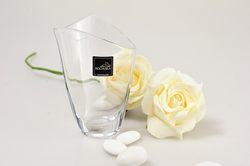 Vasetto in raffinato cristallo - bomboniere
