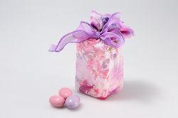 Sacchettino a cubo con degustazione confetti