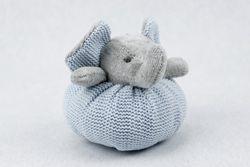 Portaconfetti Elefantino in tessuto