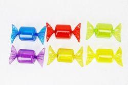 Box portaconfetti a forma di caramelle - sei colori
