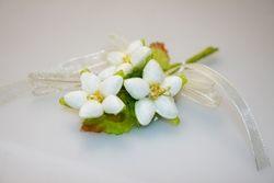 Addobbi - Mazzolino con fiori di pesco