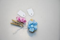 Addobbi - Pinza con fiore
