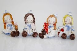 Marinarette assortite - porcellana