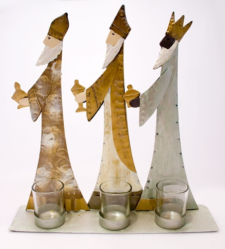 Re magi con bicchierini - 36x35cm