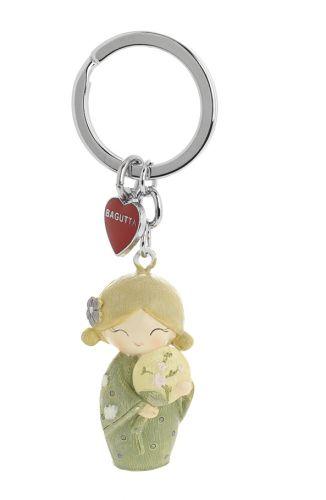 Porta chiavi bambolina Kokeshi