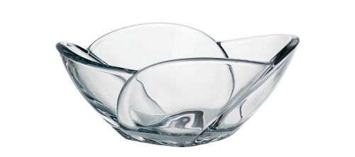 Centrotavola in cristallo Globus 25 cm