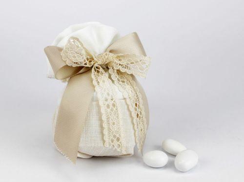 Sacchettino porta confetti linea GINEVRA matrimonio