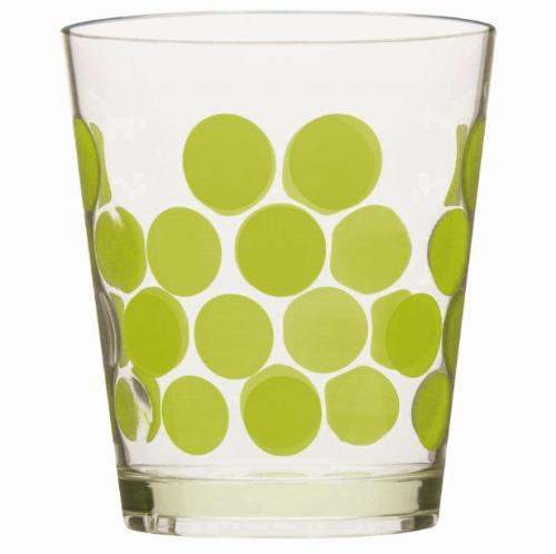 Bicchiere Acqua Pois   ZAK! Designs