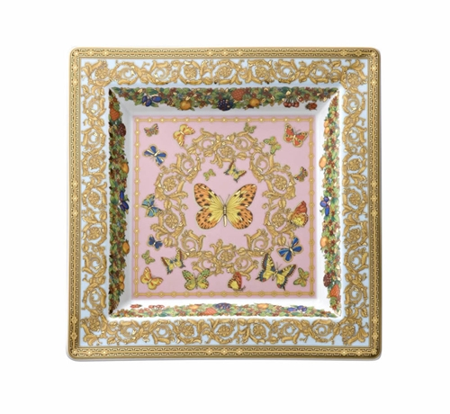 Coppa quadra cm.22 Le Jardin Rosenthal Versace