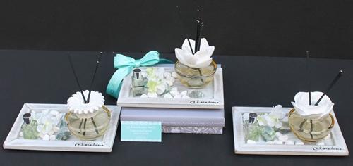 Diffusore in vetro con vassoio Fancy di Claraluna - soggetti assortiti