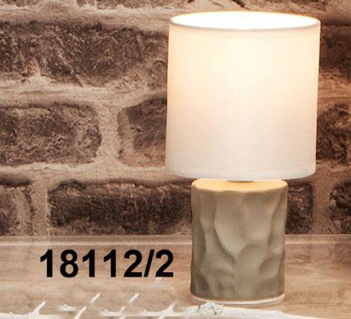 Lampade bicolor base in ceramica