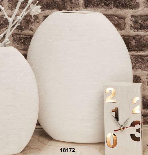 Vaso ovale in ceramica