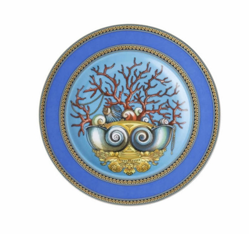 Piattino porcellana cm.18 Rosenthal Versace