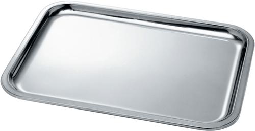Vassoio rettangolare in acciaio cm.45x34 Alessi