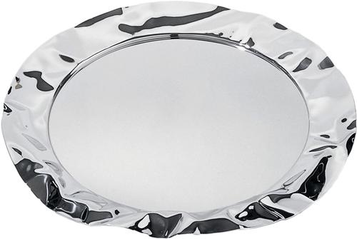 Vassoio rotondo in acciaio inox cm.44 Alessi