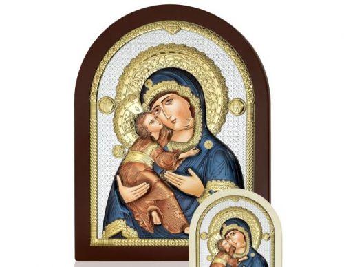 Icona Maternità Vladimir linea Icone argentata - Atelier