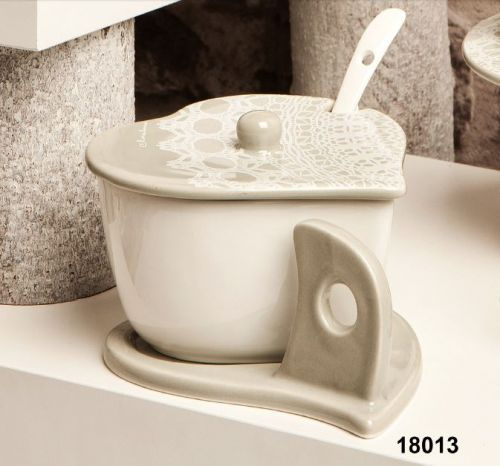 Zuccheriera in ceramica