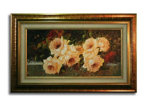 Tela con fiori rosa