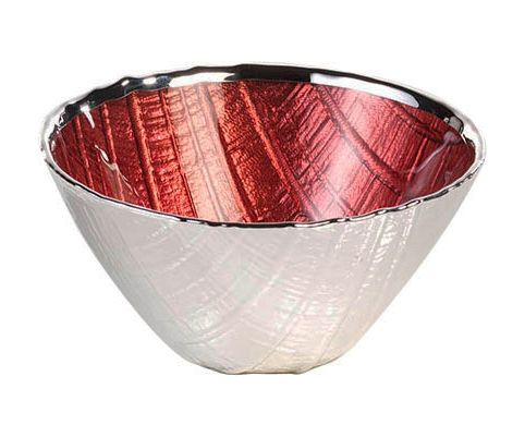 Bomboniera vassoio WOOD in vetro e argento nozze - Argenesi