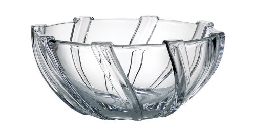 Centrotavola in cristallo Infinity 28 cm