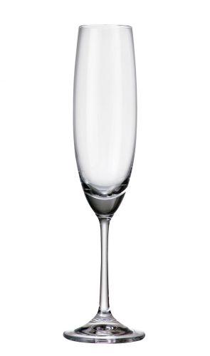 Set 6 bicchieri vino rosso Barbara in cristallo Bohemia