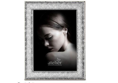 Portafoto linea Twist argentato - Atelier