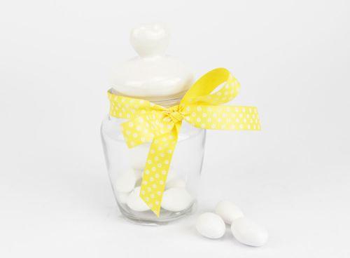 Contenitore per confetti in vetro - bomboniere