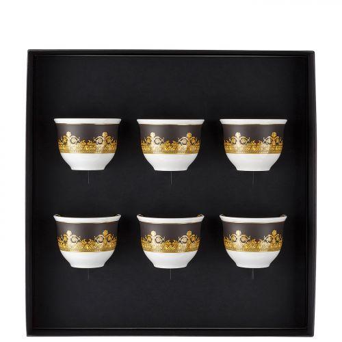 Set 6 bicchierini I LOVE BAROQUE Rosenthal Versace I tesori del mare