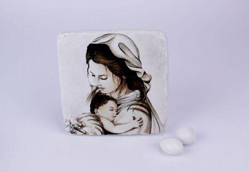 Icona sacra Madonna con il bambino - bomboniere