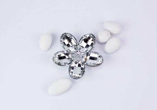 Fiore di cristallo bomboniera