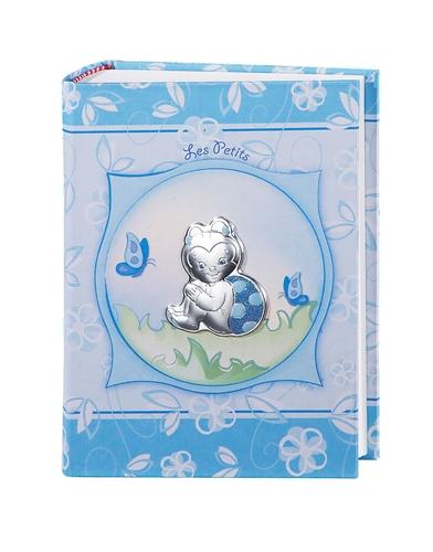 Album portafotografie con coccinella in Azzurro - 15x20cm