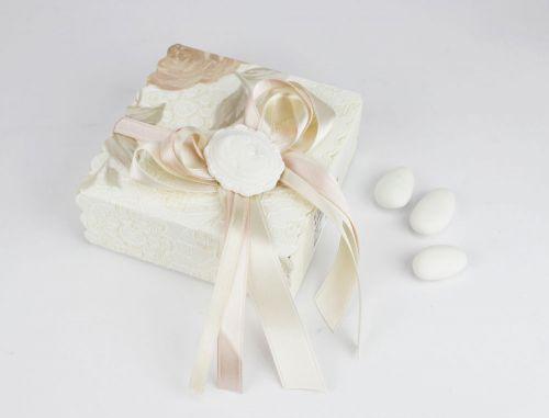 Contenitore porta confetti con icona cammeo bomboniera Matrimonio