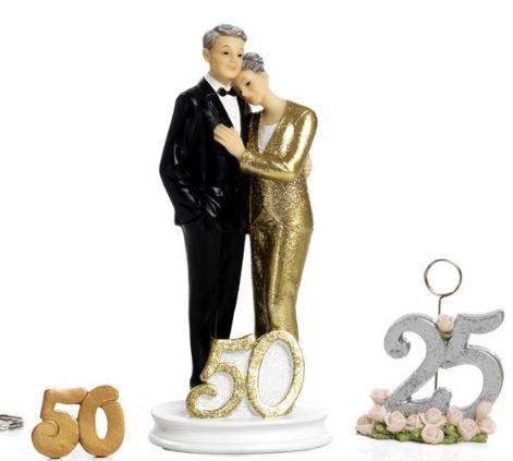 Coppia sposi Anniversario Nozze D'Oro - Mandorle