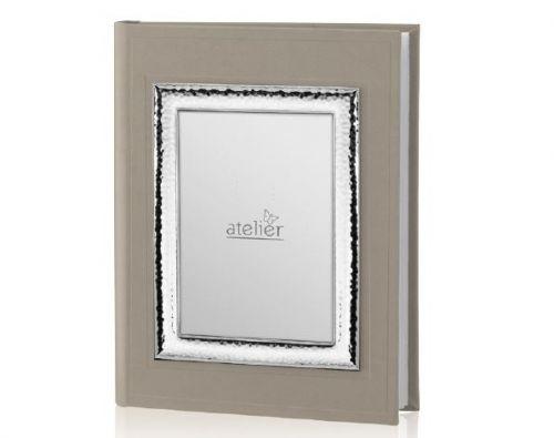 Album con Portafoto esterno linea Pearl argentato - Atelier