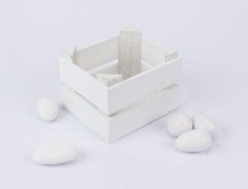 Cassetta legno colorato porta confetti per Prima Comunione / Matrimonio- Linea 2 Elle