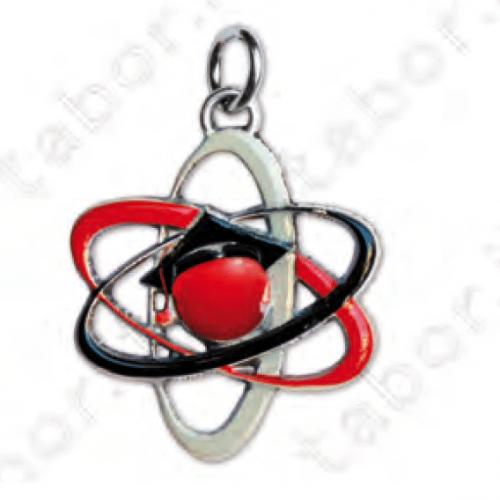Ciondolo atomo- Bomboniera laurea