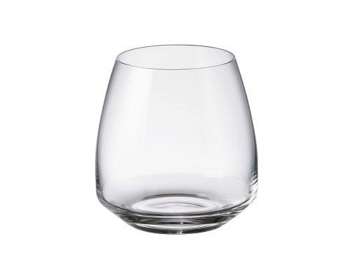 Set 6 bicchieri acqua Alizee in cristallo Bohemia