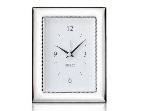 Sveglia linea Classic argentata - Atelier