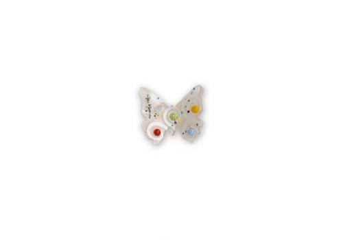 Farfalla pendente vetro