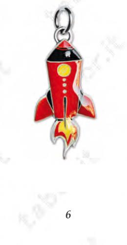 Ciondolo shuttle - Bomboniera laurea