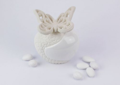 Profumatore ampolla bianco farfalla White