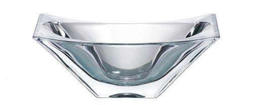 Centrotavola in cristallo Okinawa 27 cm