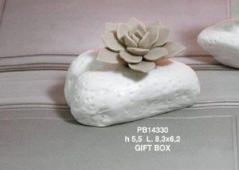 Diffusore pietra con tappo fiore - Mandorle