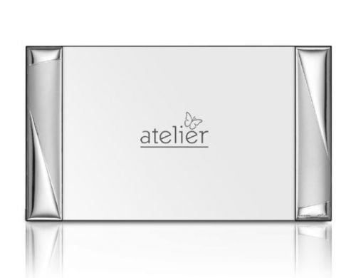 Portafoto linea Entrè argentato - Atelier