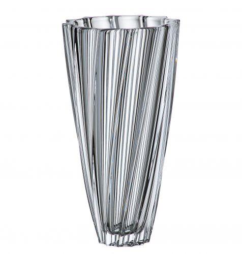 Vaso in cristallo Scallop 35.5 cm