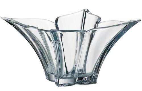 Centrotavola in cristallo Floreale 36 cm