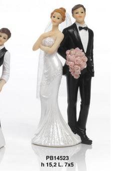 Sposi in posa - Mandorle
