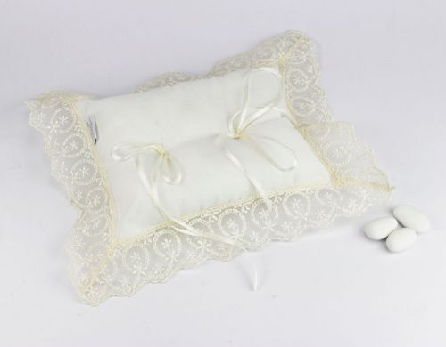 Cuscino per fedi nuziali / Bomboniere Matrimonio linea CHIARA - Joel